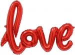 """Надпись """"Love"""" красная"""