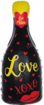 Бутылка шампанского Love