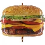 """Фольгированный шар """"Чизбургер"""""""