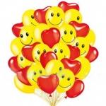 """Облако воздушных шаров """"Влюбленные"""""""