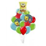 """Набор из воздушных шаров """"Губка Боб"""""""