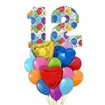 Набор на день рождения двенадцать