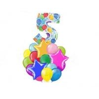 """Набор на день рождения """"пять"""""""