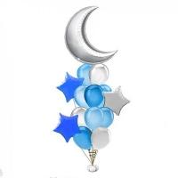 """Набор из воздушных шаров """"светлая ночь"""""""