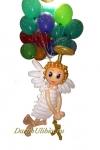 """Фигура с воздушными шарами """"Ангелочек"""""""