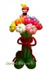 Букет ромашек из воздушных шаров