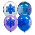 """Воздушные шары """"Снежинки"""""""