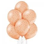 """Воздушные шары """"Борокко"""" розовые"""