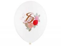 """Воздушный шар """"8 марта"""" розы"""