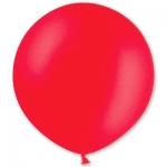 Большой шар с гелием красный