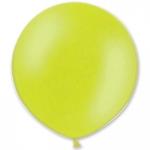 Большой шар с гелием зеленый лайм