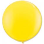 Большой шар с гелием желтый