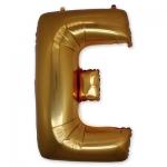Буква Е фольгированная