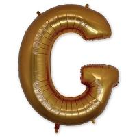Буква G фольгированная