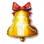 """Фольгированный шар """"Колокольчик с ленточкой"""""""