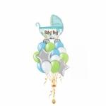 Выписка из роддома шары с гелием мальчику