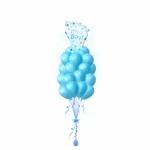 Выписка из роддома 25 шаров с гелием и фольгированным шаром