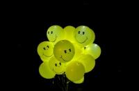 """Воздушные шары со светодиодами """"Смайлы"""""""