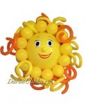 """Фигура из воздушных шаров """"Солнышко"""""""