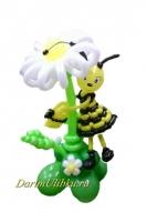 """Фигура """"Большой цветок с пчелкой"""""""