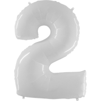 Цифра 2 Белая