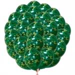 Облако камуфляжных шаров