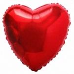"""Шар """"Сердце"""" красное"""