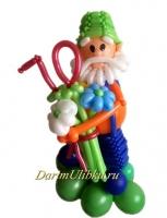 Дедушка из воздушных шаров