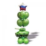 Фонтан танк со звездой