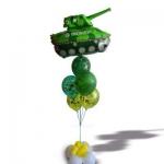 Фонтан с танком