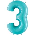 Цифра 3 Тиффани
