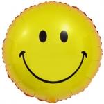 Воздушный шар круг Смайл