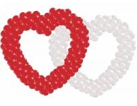 Сердца из воздушных шаров