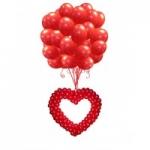 Запуск сердца из воздушных шаров