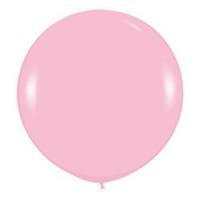 Большой шар с гелием розовый