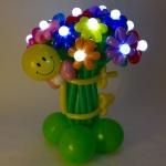 Букет цветов со светодиодами