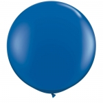 Большой шар с гелием синий