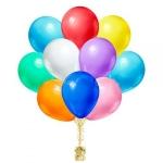 Воздушные шары с гелием 30 см