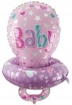 Воздушный шар Соска розовая