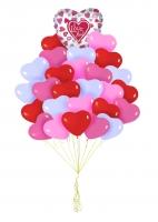 Букет шаров Дела сердечные