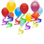 Воздушные шары с хвостиками