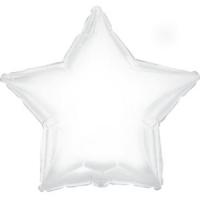 Фольгированный шар звезда белая