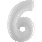 Цифра 6 Белая