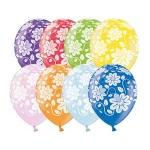 Воздушные шары цветы металлик
