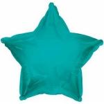 Фольгированный шар звезда бирюзовая