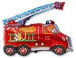 Фольгированный шар Пожарная машина