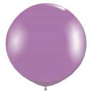 Большой шар с гелием фиолетовый