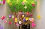 Воздушные шары с цветами