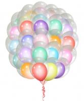 Воздушные шары в шаре