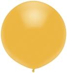 Большой шар с гелием золотой